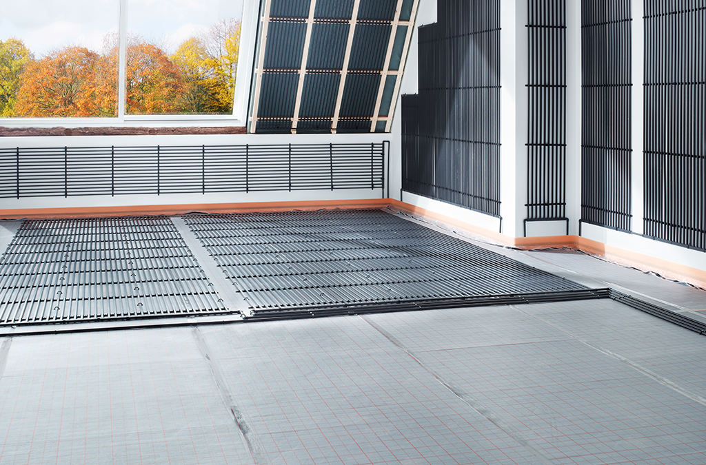 aquatherm black system –  THE VERSATILE SYSTEM FOR SURFACE HEATING AND COOLING